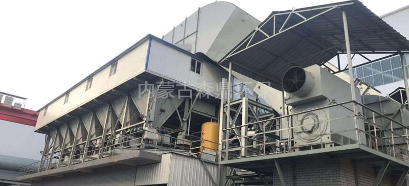 山东鲁丽磬金钢管159A烧结板除尘器