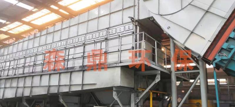 河北德龙带钢塑烧板除尘器