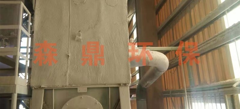 中国—阿拉伯化肥塑烧板除尘器