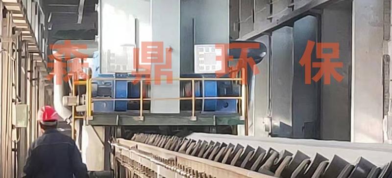 太钢尖山铁矿移动除尘器