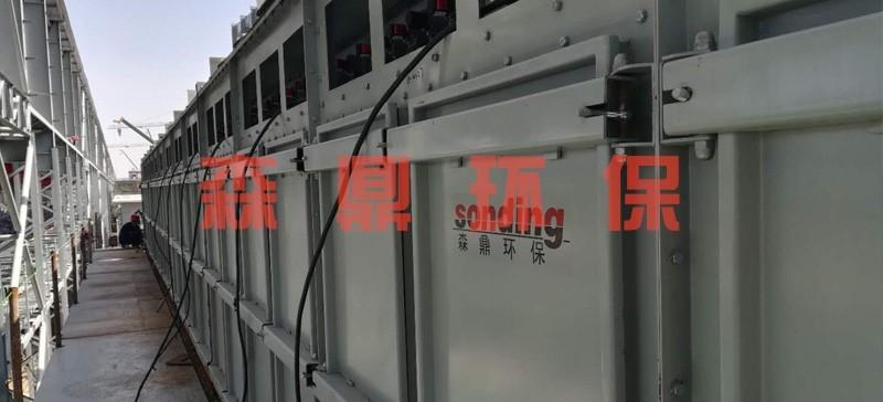 山东磬金159B无缝钢管塑烧板除尘器