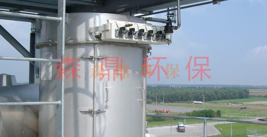 应用于电炉的塑烧板除尘器