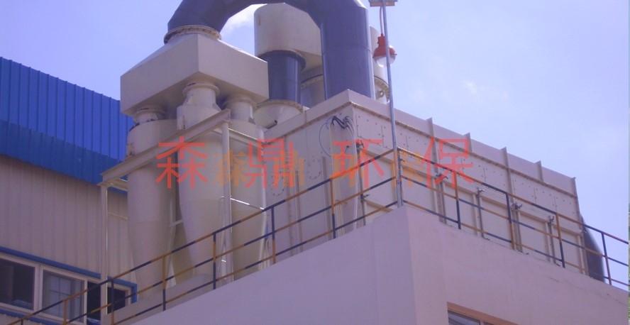 塑烧板循环流化装置